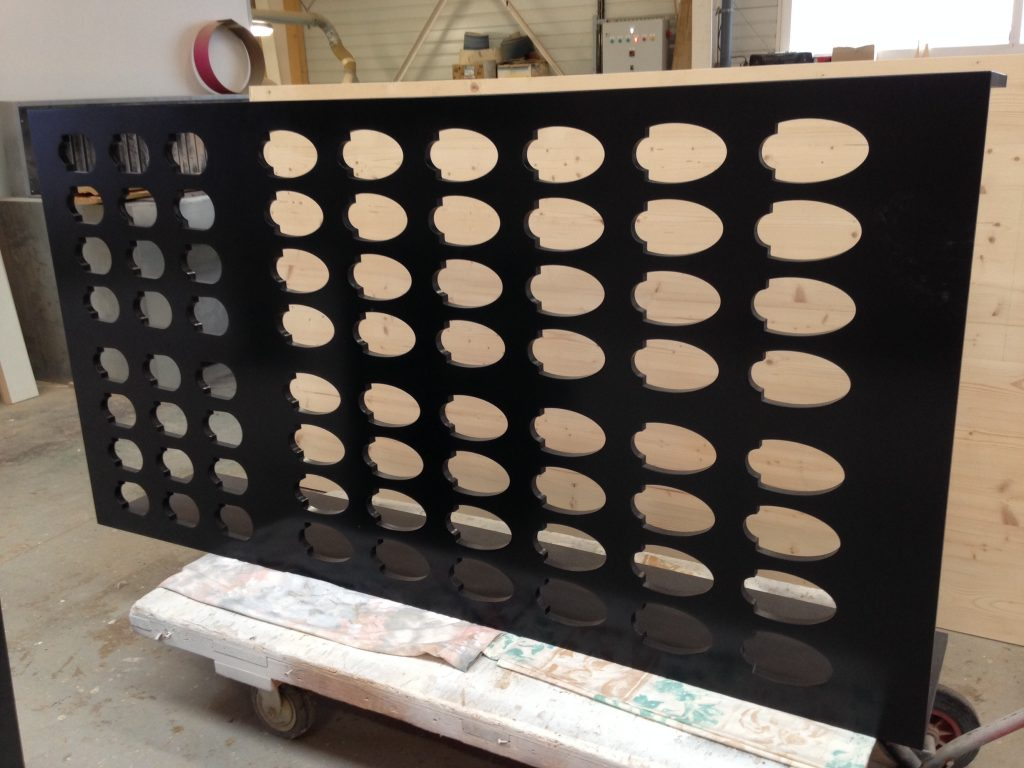 Module de cave à vins par Planète bois
