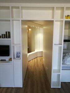 Aménagement appartement - Planète bois - fabrication sur mesure