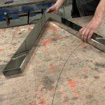 Piètement inox pour meuble - Planète bois - fabrication sur mesure