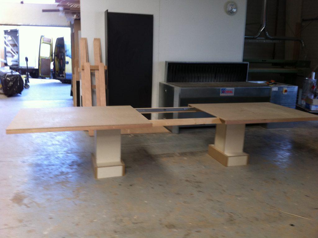 Réalisation table ouverte par Planète bois